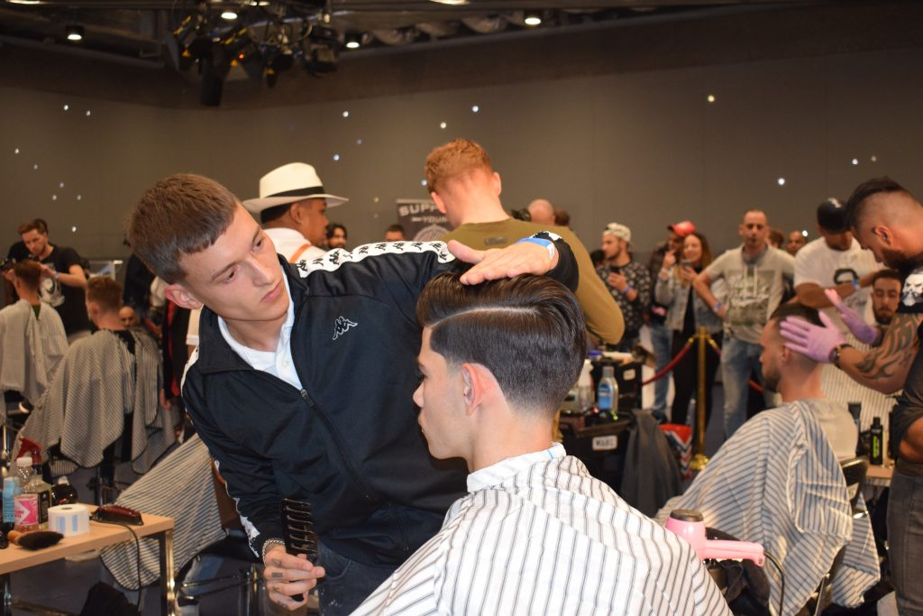 Boaz Lavina at Dutch Barber Battle