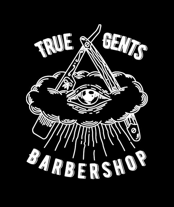 True Gents Barbershop logo